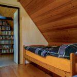 Pravý pokoj + knihovna